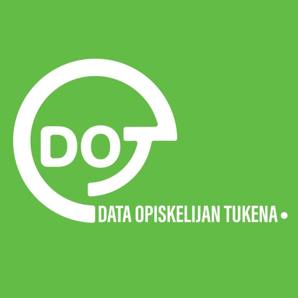 Data opiskelijan tukena -hankkeen logo